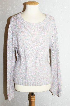 H&M Damen Strick dicker Pullover Pulli Bunt 42