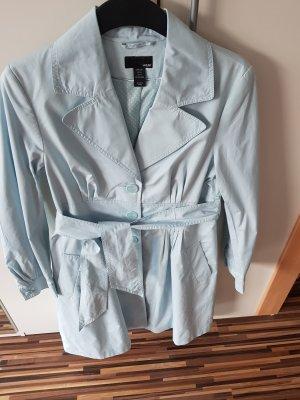 H&M  Damen  Trenchcoat Sommerjacke Mantel in Mint - Größe 38