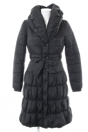 H&M Down Coat black casual look