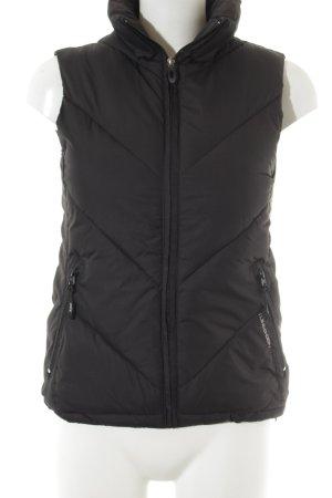 H&M Gilet en duvet noir style décontracté