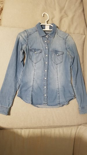 H&M Denim Hemd.    .