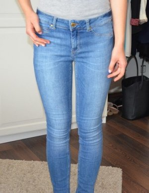 H&M Denim Jeans Low Waist Slim Leg