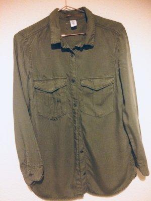 H&M Denim Kollektion Hemd aus Lyocell