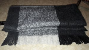 H&M Woolen Scarf multicolored
