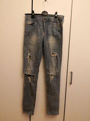 H&M Distressed Light Jeans