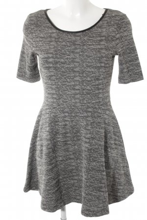 H&M Divided A-Linien Kleid abstraktes Muster Casual-Look