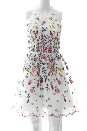 H&M Divided A-Linien Kleid Blumenmuster Elegant