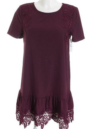H&M Divided A-Linien Kleid purpur Casual-Look