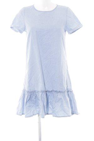 H&M Divided Babydollkleid himmelblau Casual-Look