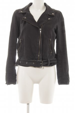H&M Divided Bikerjacke schwarz Casual-Look
