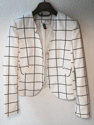 H&M divided Blazer, schwarz weiß kariert