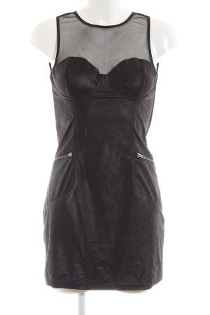 H&M Divided Robe crayon noir style extravagant