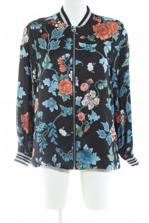 H&M Divided Blouson Blumenmuster Casual-Look