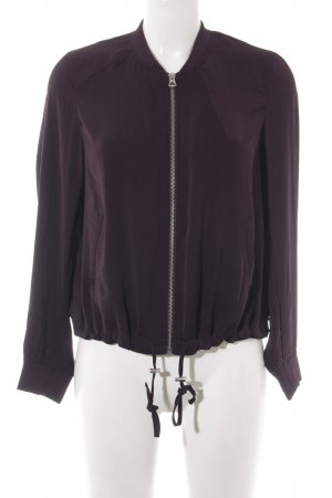 H&M Divided Blouson brombeerrot Casual-Look