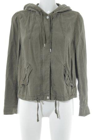 H&M Divided Blouson khaki Metallknöpfe