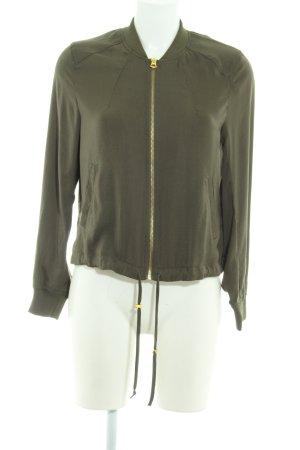 H&M Divided Blouson khaki schlichter Stil