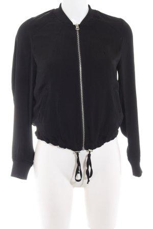 H&M Divided Blouson schwarz Casual-Look