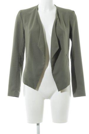 H&M Divided Blusenjacke grüngrau schlichter Stil