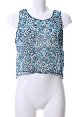 H&M Divided Blusa motivo astratto stile casual