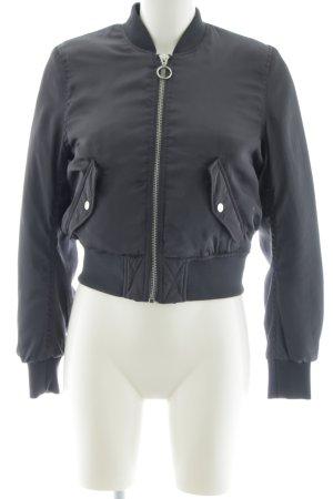 H&M Divided Giacca bomber grigio chiaro stile da moda di strada