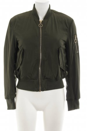 H&M Divided Bomber Jacket khaki casual look