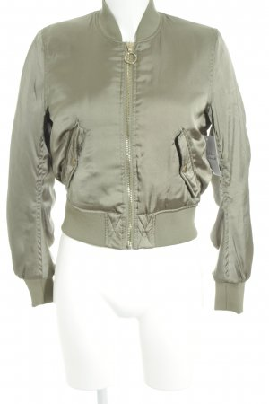 H&M Divided Bomber Jacket khaki-olive green casual look