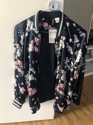 H&M divided Bomberjacke mit Blumen