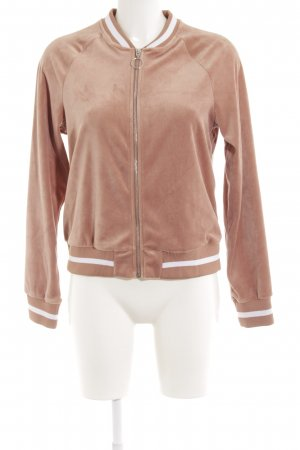 H&M Divided Bomberjacke nude-weiß Casual-Look