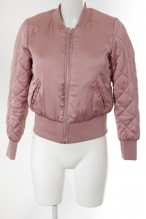 H&M Divided Bomberjacke rosa Casual-Look