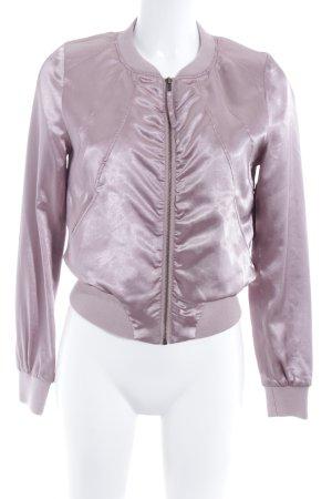 H&M Divided Bomberjacke roségoldfarben Casual-Look
