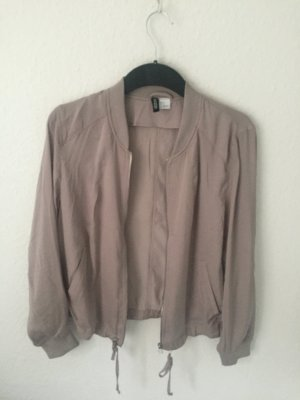 H&M Divided Bomberjacke Taupe