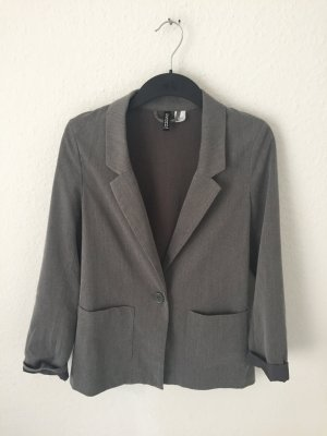 H&M Boyfriend Blazer dark grey