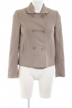 H&M Divided Pea Jacket brown casual look