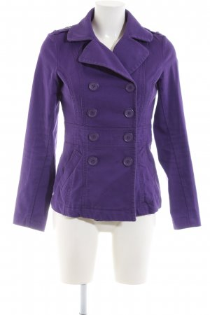 H&M Divided Pea Jacket lilac casual look