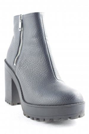 H&M Divided Chelsea Boots schwarz Street-Fashion-Look