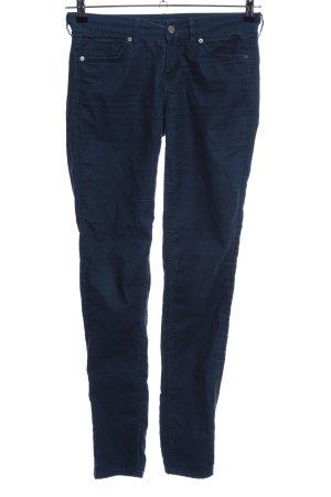 H&M Divided Pantalón de pana azul look casual