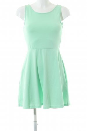 H&M Divided Cut Out Dress turquoise casual look