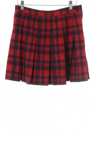 H&M Divided Plaid Skirt check pattern Brit look