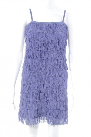H&M Divided Fringed Dress lilac extravagant style