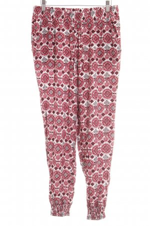H&M Divided Harem Pants ethnic pattern casual look