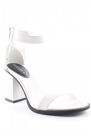 H&M Divided High Heel Sandal white casual look