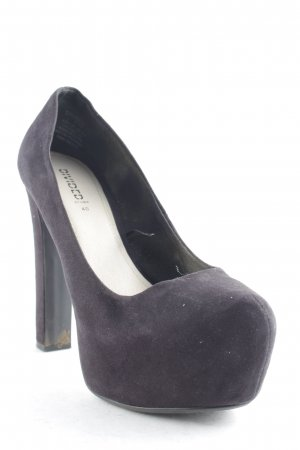 H&M Divided High Heels schwarz Party-Look