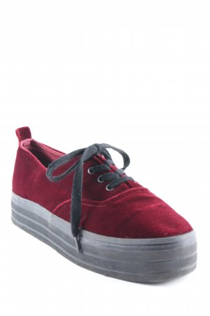 H&M Divided High Top Sneaker purpur Casual-Look