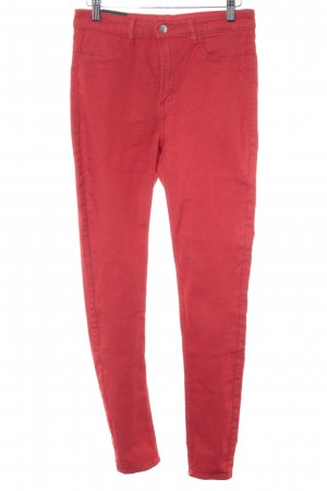 H&M Divided High-Waist Hose rot Casual-Look