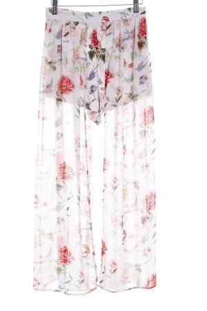 H&M Divided Broekrok bloemenprint romantische stijl