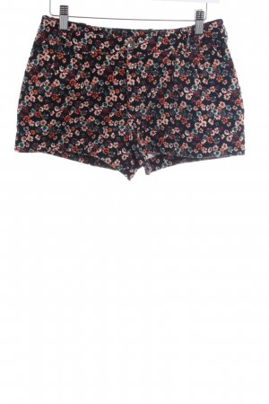 H&M Divided Hot Pants Blumenmuster Casual-Look