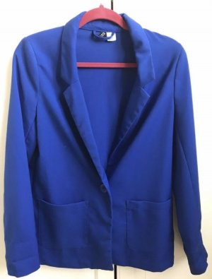 H&M Divided Jacke Blazer Gr 36 blau