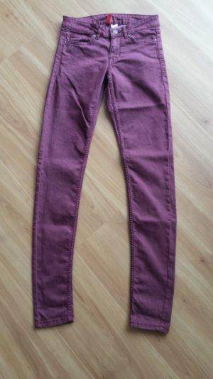 H&M (Divided) Jeans lila/violett Gr. 34