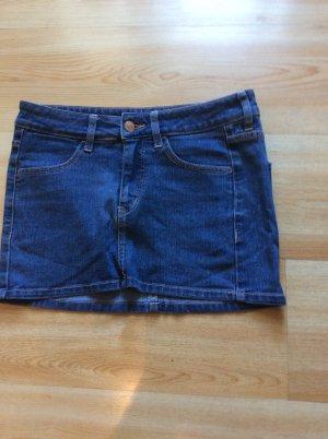H&M Divided Jeans Minirock Gr 34