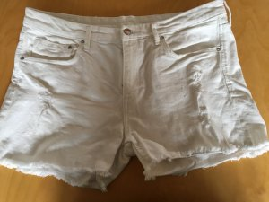 H&M Divided Jeans Short Gr. 42 weiß